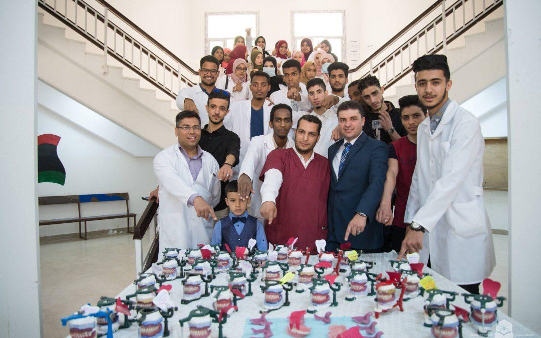 افتتاح عيادة طب الاسنان بكلية طب وجراحة الفم والاسنان