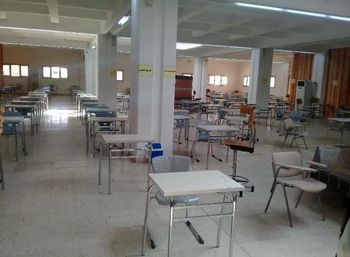 زيارة إلى كلية الصيدلة /جامعة طرابلس ، بخصوص التعاون مع كلية الصيدلة /غريان