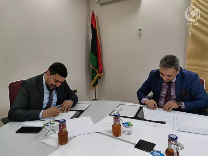 توقيع مذكرة تفاهم مع السيد المهندس محمد إبراهيم الضراط مدير مكتب دعم السياسات العامة