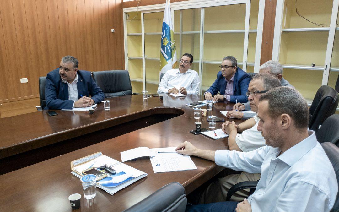 الإجتماع الإستثنائي لمجلس جامعة غريان