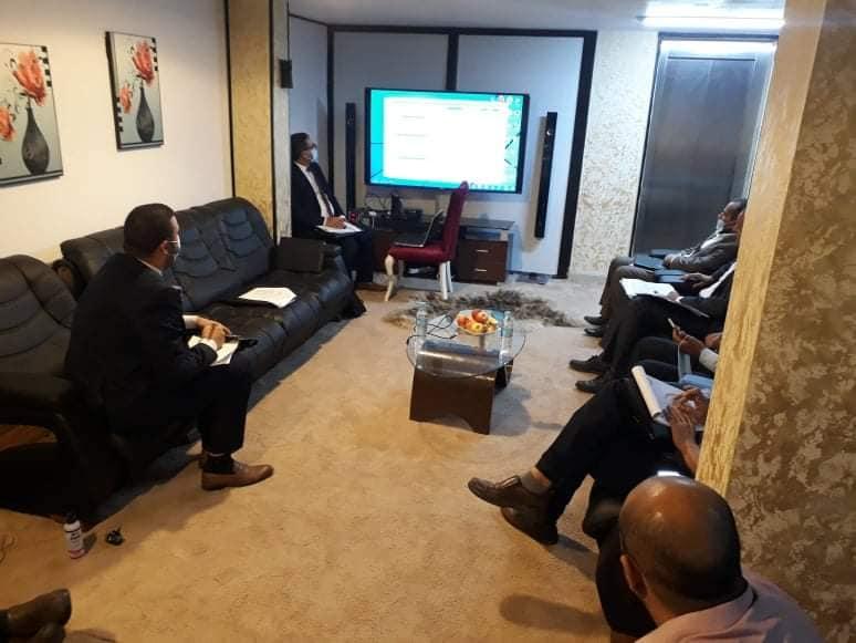 جامعة غريان تشارك في ورشة عمل بعنوان(حوكمة الدراسات العليا بالجامعات الليبية) التي نظمتها جامعة المرقب