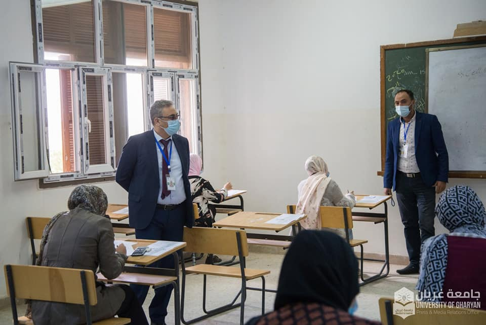 اللجنة العليا لإمتحانات الشهادة الثانوية تتابع سير الامتحانات