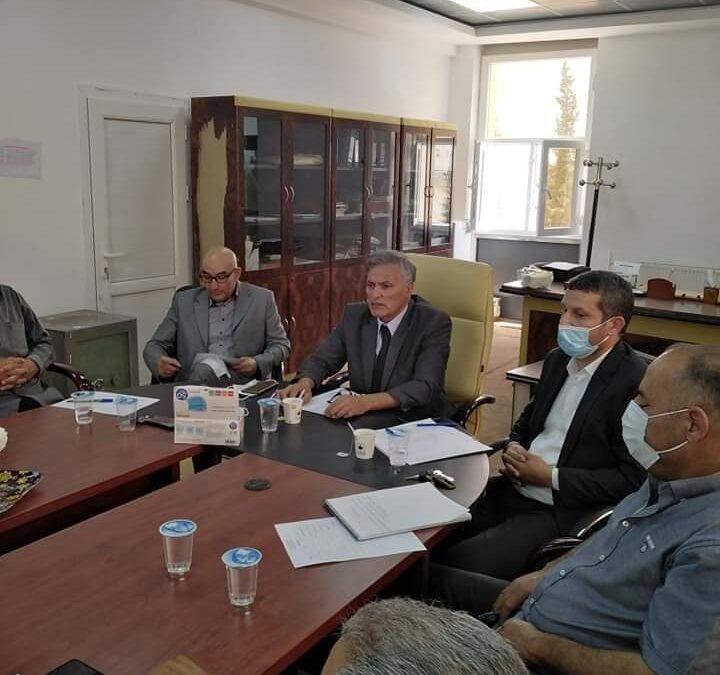 الاجتماع التشاوري لتأسيس الاكاديمية الليبية للدراسات العليا بغريان