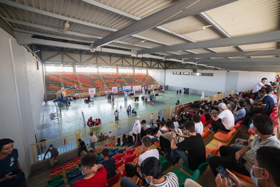 جامعة غريان الراعي الذهبي لبطولة ليبيا الودية للروبوتات التي تستضيفها مدينة غريان بالقاعة المغلقة للمدينة الرياضية