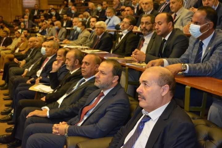 السيد الدكتور محمد غومة رئيس الجامعة يشارك في (الملتقى الأول للجودة .. تحدّيات الواقع و استراتيجيات المستقبل)