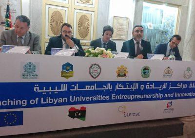 انطلاق عمل مراكز ريادة الاعمال والابتكار بالجامعات الليبية